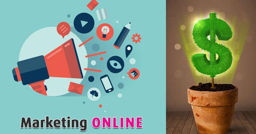 Marketing Online trở thành hình thức truyền thông không thể thiếu trong chiến lược hoạt động của doanh nghiệp